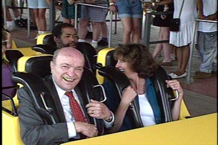 """Can you remember the thrill you felt on your first Steel Phantom ride? (That's right - we said the """"Phantom,"""" not the """"Revenge."""")"""