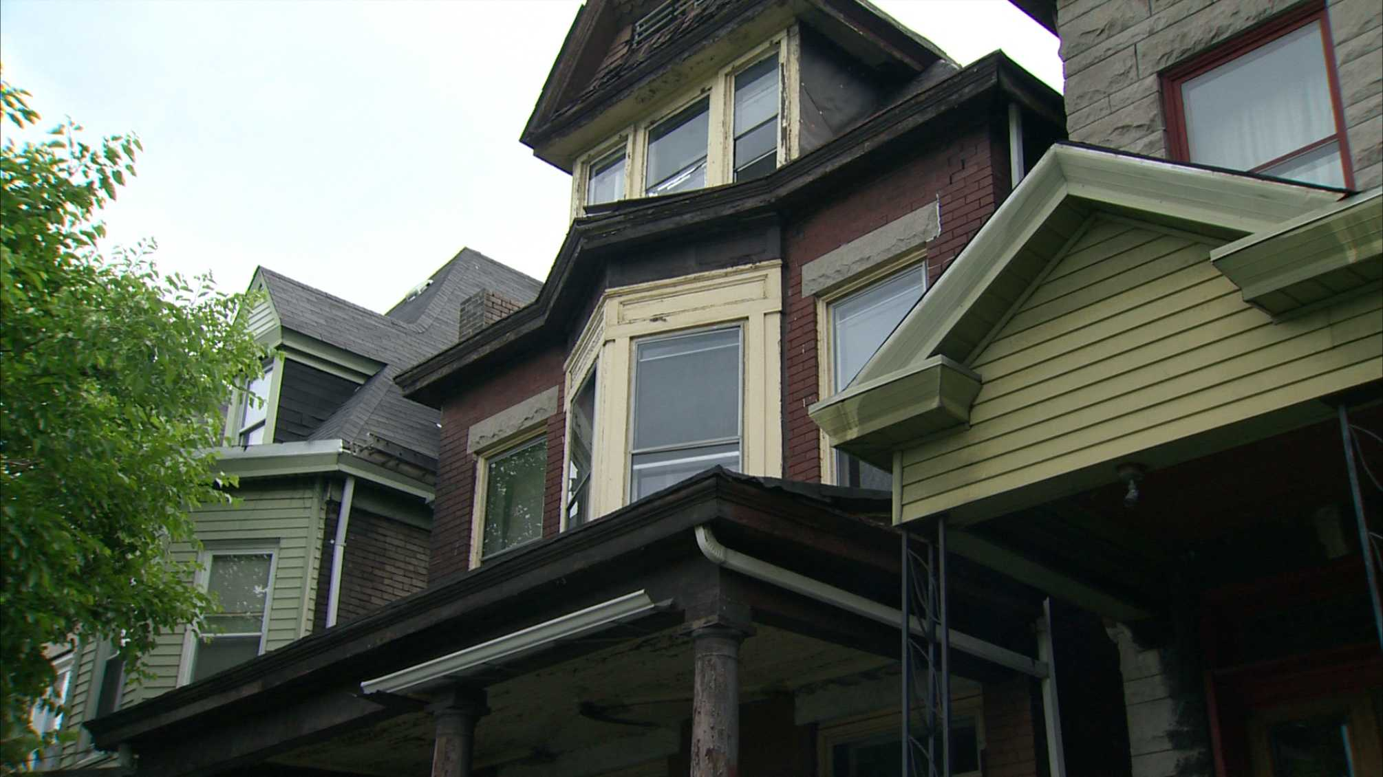 Norbert Malloy's home in Hazelwood