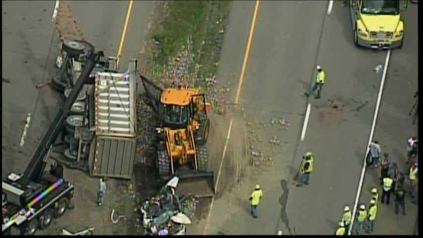One person was killed Thursday afternoon in a three-vehicle crash involving a coal truck in East Franklin Township, Armstrong County.