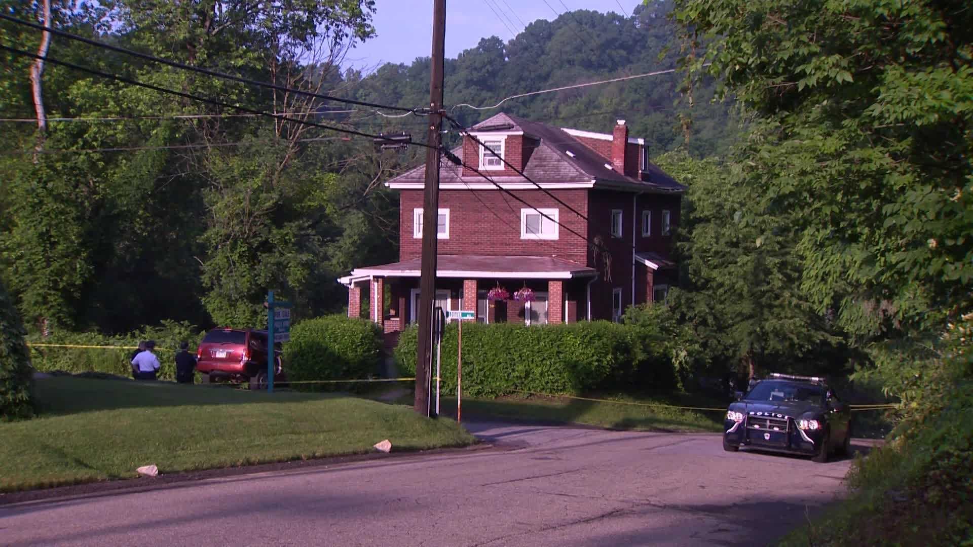 Police activity in Shaler Township