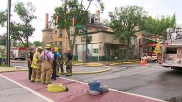 Firefighters were called to a two-alarm fire in Sewickley on Friday afternoon.