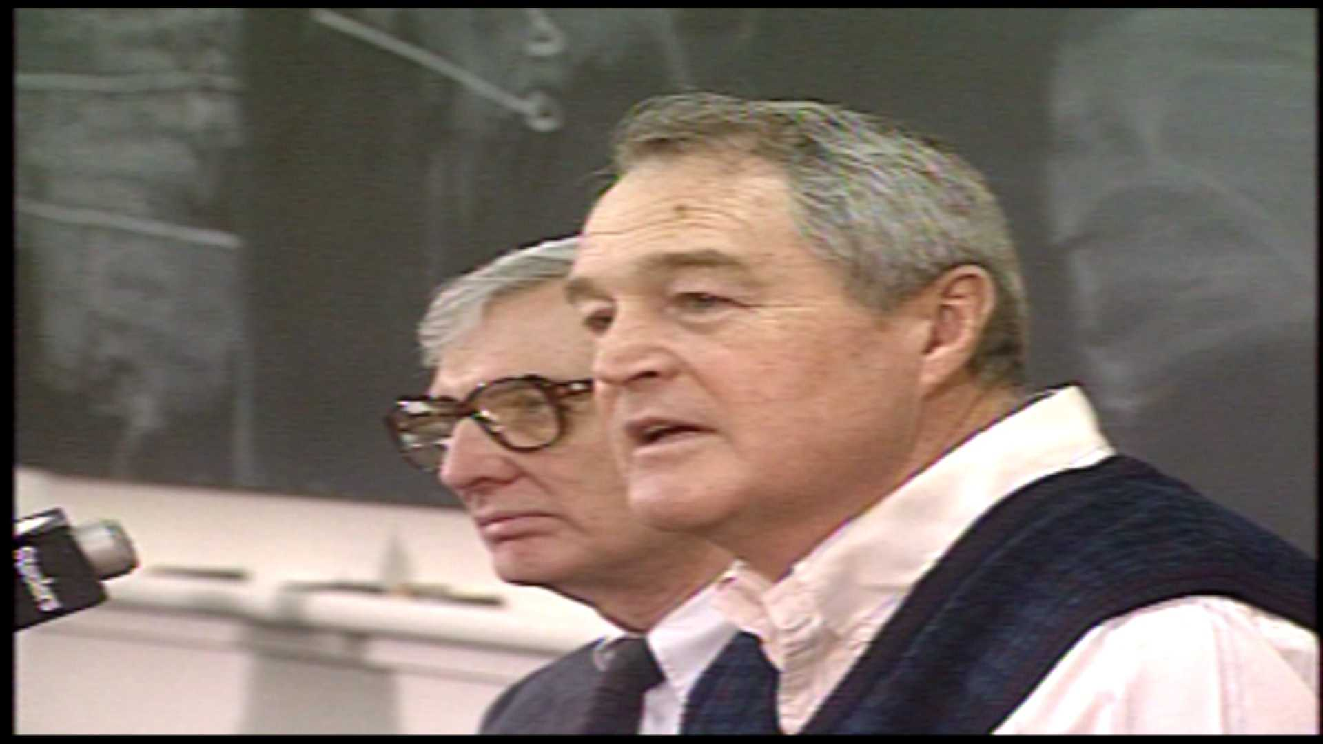 Dan Rooney and Chuck Noll in 1991