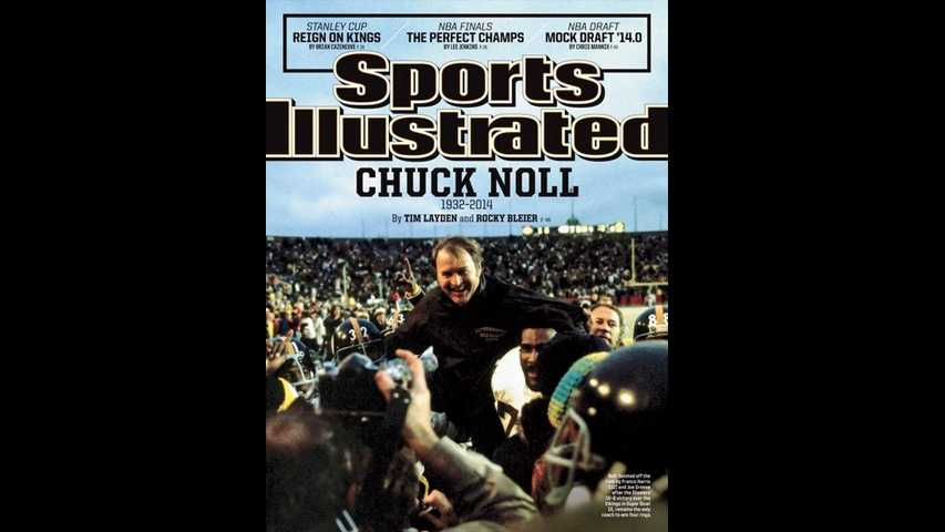 img-Chuck Noll on cover of Sports Illustrated