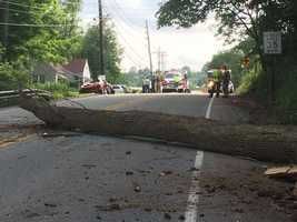 Tire Hill Road in Conemaugh Township, Somerset County