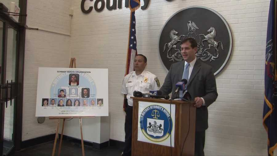 District Attorney Joshua Lamancusa said arrest warrants were served on 10 people wanted in connection with an alleged heroin ring in Lawrence County. Here are photos of all the suspects.