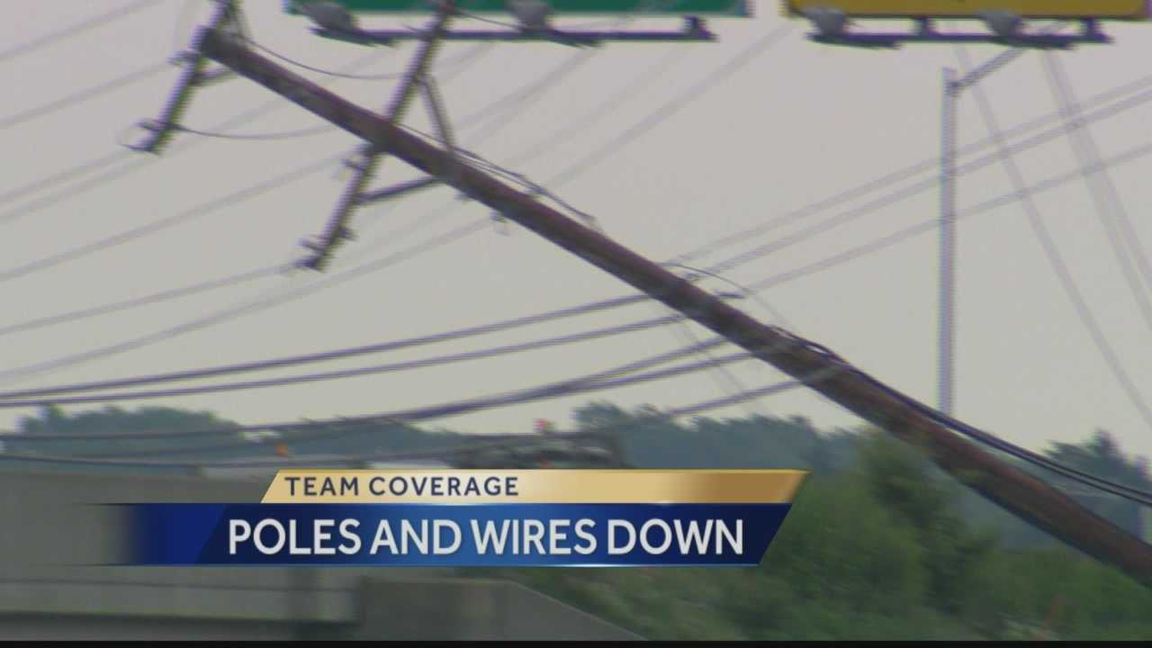 Pittsburgh's Action News 4's Amber Nicotra has the latest on wires, trees, and poles down across our region.