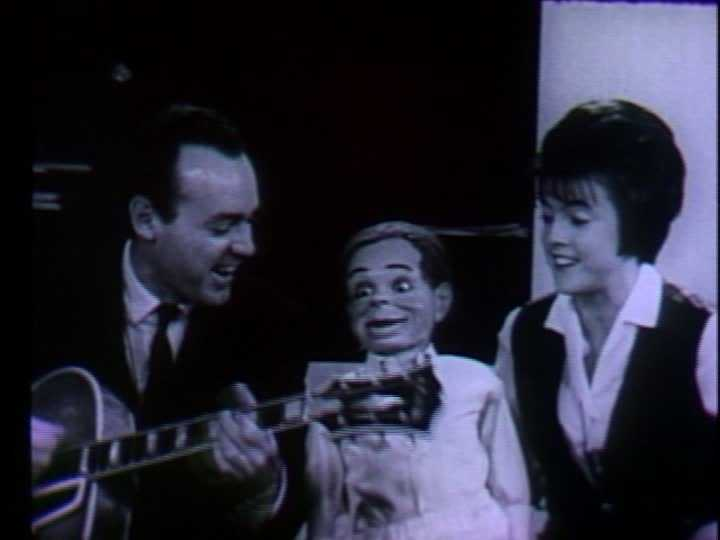 """""""Popeye and Friends"""" aired weekdays from 4-5 p.m. on WTAE. It featured color cartoons and live performances by WTAE musical director Joe Negri and Sandy Mason, who performed with a ventriloquist dummy named Tommy."""