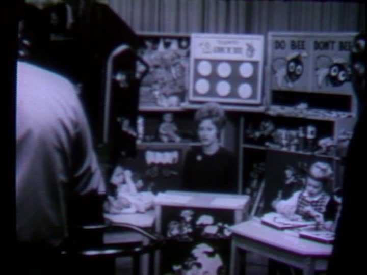 """""""Romper Room"""" with Miss Janey aired weekday mornings on WTAE, every Monday through Friday, from 8 a.m. to 8:45 a.m."""