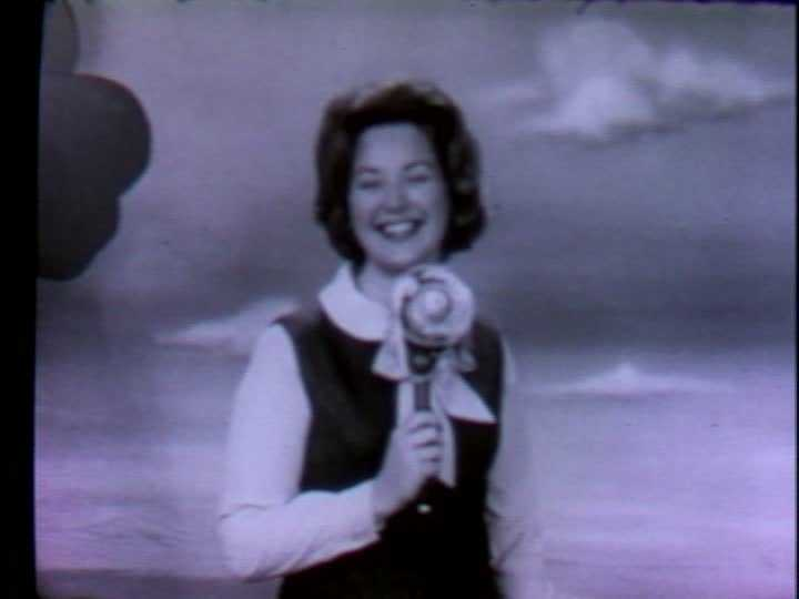 """The """"Ricki and Copper"""" show with Ricki Wertz aired on WTAE from 1959 to 1969."""