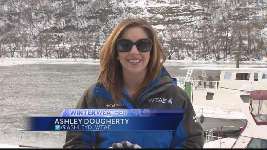 Pittsburgh's Action News 4 viewers are used to watching Ashley on TV, but she has also appeared on the big screen.