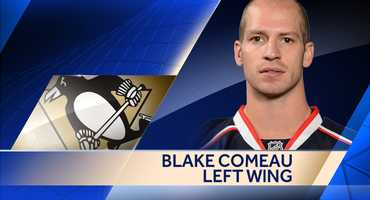 The Penguins signed forward Blake Comeau to a one-year deal worth $700,000.