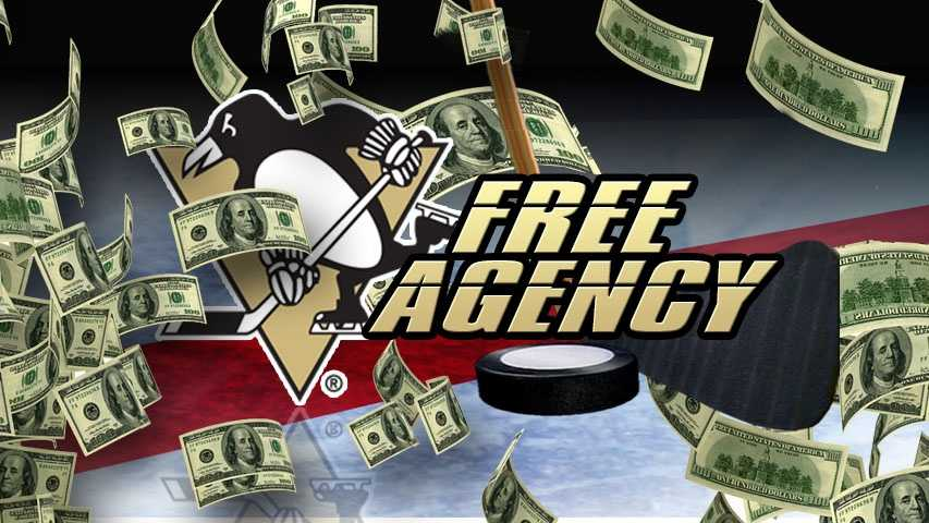 Penguins free agency graphic