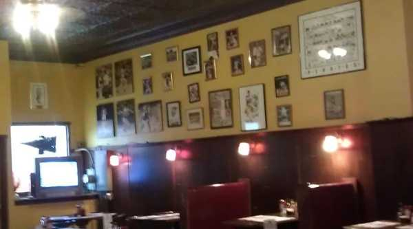 Several pieces of Pittsburgh sports memorabilia on display inside Rooks Cantina 505 were destroyed in a fire.