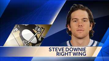 The Penguins signed forward Steve Downie to a 1-year deal worth $1 million.