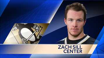 The Penguins re-signed forward Zach Sill to a one-year, two-way contract worth $550,000 at the NHL level.