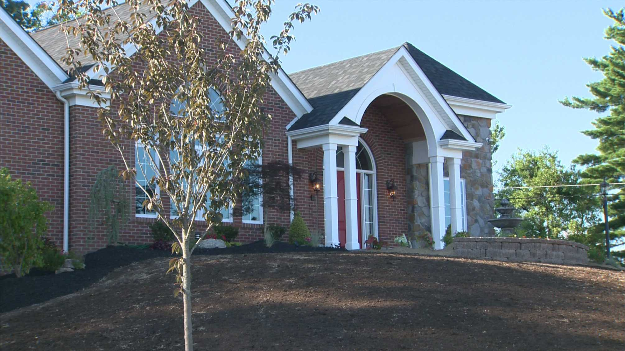 "This ""smart home"" in Peters Township was built for Marine Sgt. Doug Vitale and his wife, Alexis."