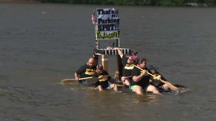 "This entry in the ""Anything That Floats"" race was uniquely Pittsburgh."