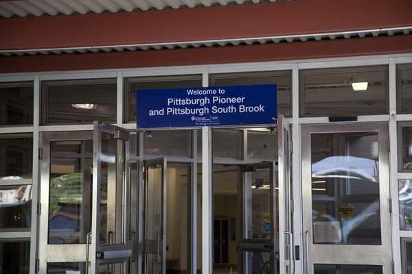 Kelly Frey went to Pittsburgh Pioneer School to meet Bennett when he got off his school bus.