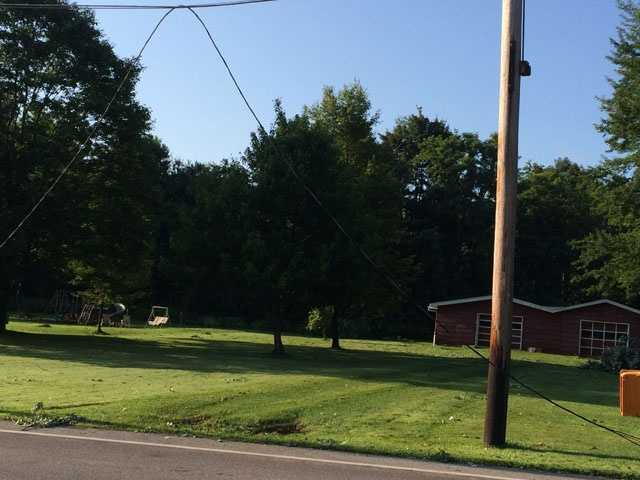 These photos of storm damage were taken in Jackson, Mercer County.