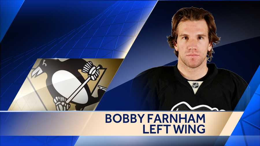 The Penguins re-signed forward Bobby Farnham to a one-year, two-way contract worth $550,000 at the NHL level.