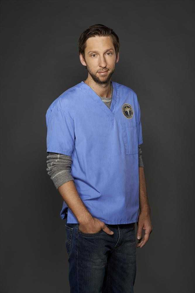 "ABC's ""Forever"" stars Joel David Moore as Lucas. (ABC/Edward Herrera)"