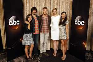 "TCA SUMMER PRESS TOUR 2014 - ""Manhattan Love Story"" - The cast and producers of ABC's ""Manhattan Love Story"" at Disney ¦ ABC Television Group's Summer Press Tour 2014. (ABC/Rick Rowell) CHLOE WEPPER, NICOLAS WRIGHT, JAKE MCDORMAN, ANALEIGH TIPTON, JADE CATTA-PRETA"