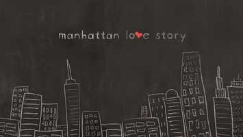 "Manhattan Love Story,"" a new romantic comedy airing Tuesdays this fall, is based on this simple premise: The only way to maintain relationships - with lovers, spouses, family, co-workers, or friends - is to keep most of our thoughts to ourselves. At the heart of the story are Dana (Analeigh Tipton, ""Crazy, Stupid, Love"") and Peter (Jake McDorman, ABC Family's ""Greek,"" ""Shameless"") a couple navigating the complicated terrain of a modern day relationship. The audience will hear Dana and Peter's inner thoughts, highlighting the differences of men and women as this couple traverses the highs and lows of dating. (ABC/Giovanni Rufino)."