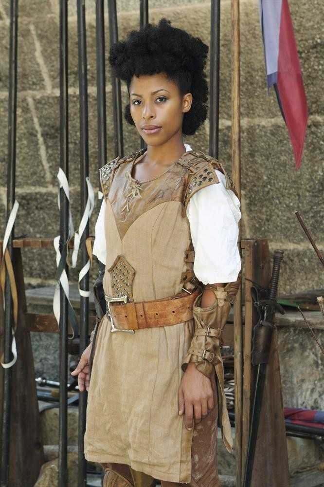 """Jasmine Kyle (31, Mother and Homemaker from Media, PA) Jasmine met her knight in shining armor at a Renaissance Fair. Obsessed with Tolkien growing up, the self-proclaimed horse geek writes her own """"Lord of the Rings"""" fanfiction. (ABC/Rick Rowell)"""