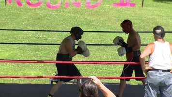 Rod Salka trains at Buzz Jr.'s Round 2 boxing camp.