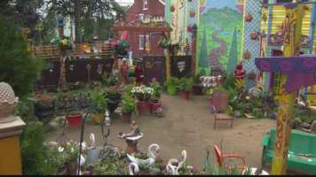Randyland is on display for anyone who wants to visit. Randy Gilson invited Pittsburgh's Action News 4 anchor Michelle Wright for a tour.