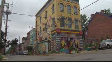 Randyland is at the corner of Arch and Jacksonia streets on the Central North Side, in the historic neighborhood of the former Allegheny City.