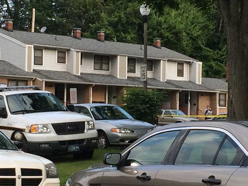 Police said Thomas Paris, 43, of New Castle, was killed, and another man and a woman were injured in the shooting.