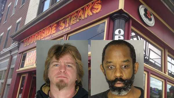 Demetrius Winters and Clyde Elliott Sr. are charged in connection with an altercation outside Southside Steaks on East Carson Street.
