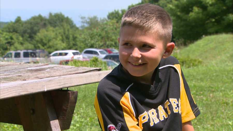 A 9-year-old Morgantown boy is showing his love for the Pittsburgh Pirates in an unusual way.