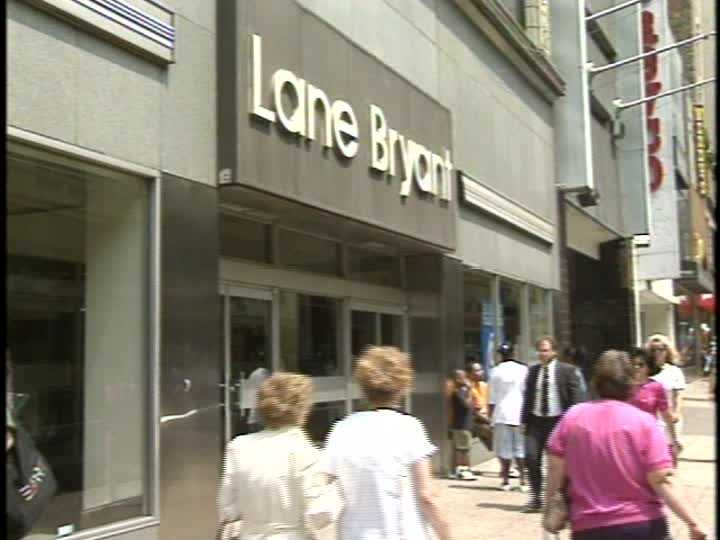 A Lane Bryant plus-size clothing store was also in this area.
