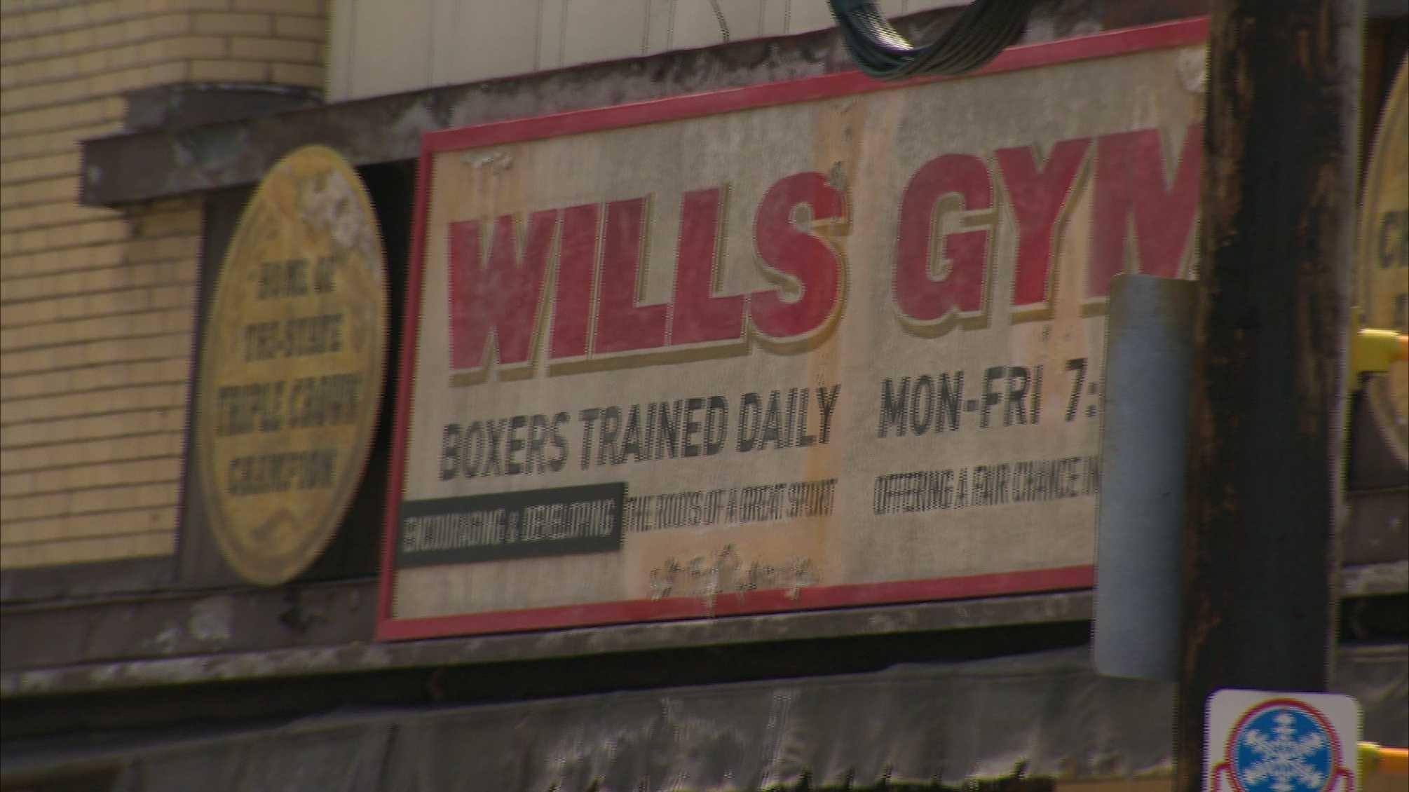 Southpaw--Wills Gym
