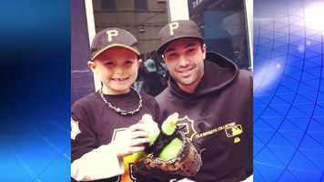 His father takes him to more than a dozen Pirates home games every season. A few years ago, he got to meet Pirates second baseman Neil Walker at Fanfest. Walker struck up a friendship with the young fan.