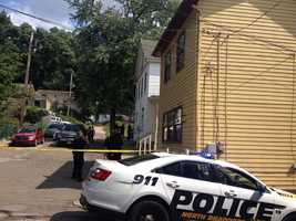 North Braddock police were called to Hickory Street for a report of four people being shot.
