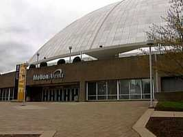 "Near the end of the '90s, the arena that had become known as ""The house that Mario Lemieux built"" was renamed Mellon Arena."