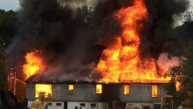 Fire damages Indiana County lumber yard