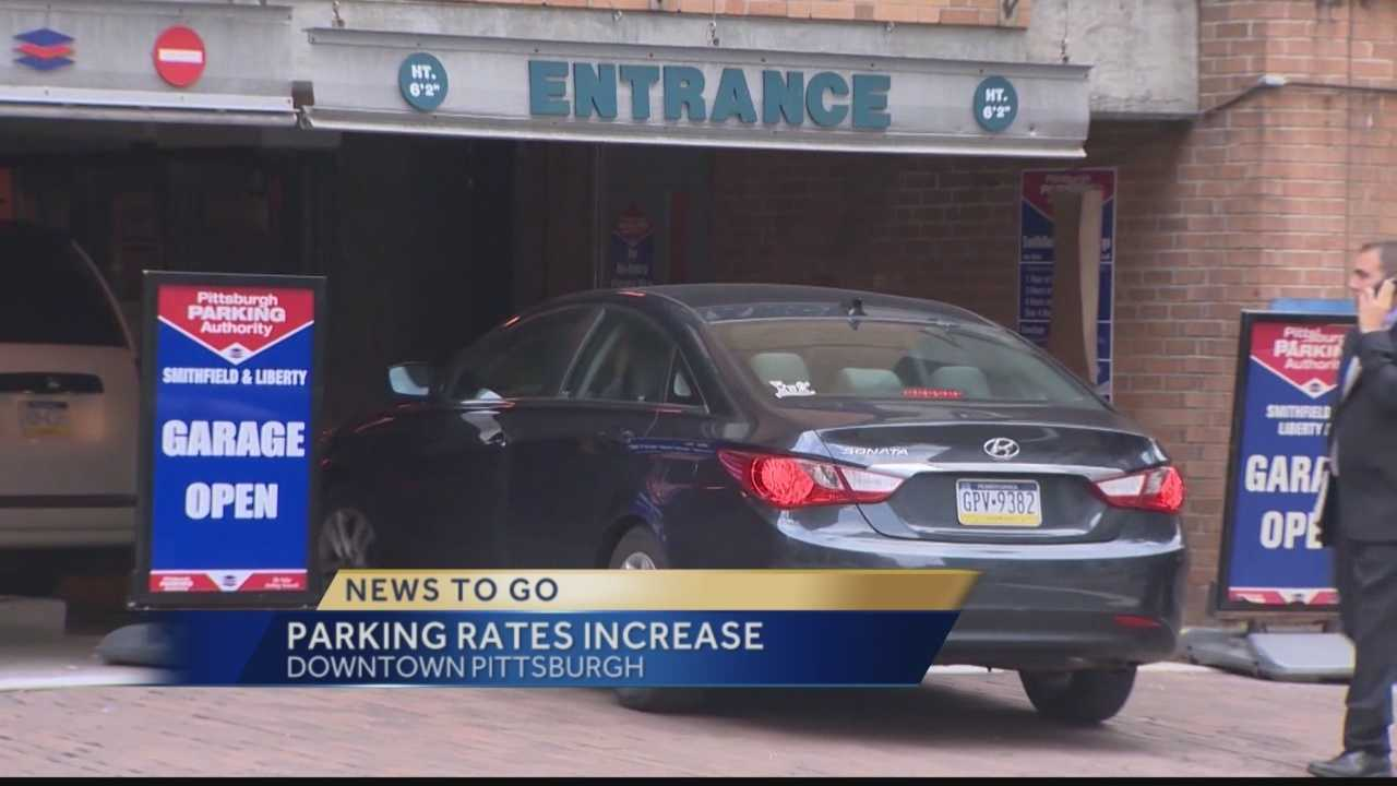 Pittsburgh's Action News 4's Amber Nicotra has the latest on the downtown Pittsburgh fee increase that took effect today for parking at Pittsburgh Parking Authority lots.