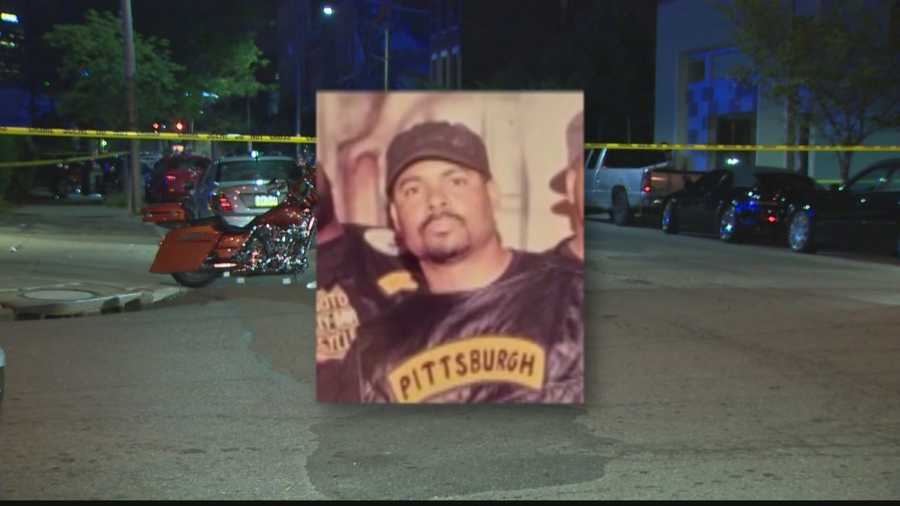 Tyrone Tomman, 40, of Penn Hills, was a member of the Pittsburgh Gentlemen motorcycle club. Police say he and five others from the MC came under fire from a black SUV that drove past Art's Tavern on Penn Avenue.