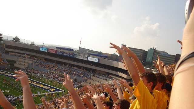 Mountaineer Field at Milan Puskar Stadium is the home of West Virginia University football.