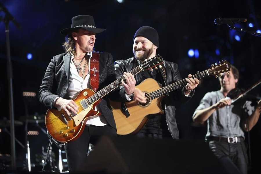 """RICHIE SAMBORA, ZAC BROWN BAND -- CMA MUSIC FESTIVAL: COUNTRY'S NIGHT TO ROCK - The ABC Television Network airs """"CMA Music Festival: Country's Night to Rock"""" on TUESDAY, AUGUST 5 (8:00-11:00 PM/ET)."""