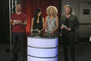 "Your Hosts: LITTLE BIG TOWN -- CMA MUSIC FESTIVAL: COUNTRY'S NIGHT TO ROCK - The ABC Television Network airs ""CMA Music Festival: Country's Night to Rock"" on TUESDAY, AUGUST 5 (8:00-11:00 PM/ET). (ABC/Mark Levine)"