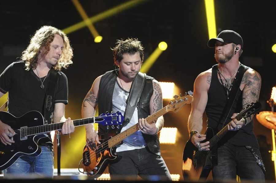 """BRANTLEY GILBERT -- CMA MUSIC FESTIVAL: COUNTRY'S NIGHT TO ROCK - The ABC Television Network airs """"CMA Music Festival: Country's Night to Rock"""" on TUESDAY, AUGUST 5 (8:00-11:00 PM/ET). (ABC/Eric Gebhart)"""