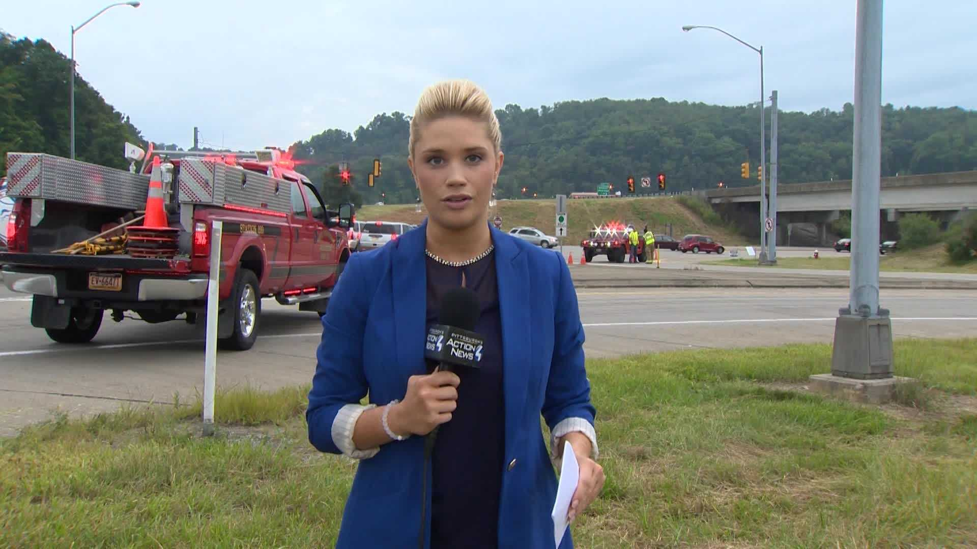Jackie Schafer reports on Interstate 279.