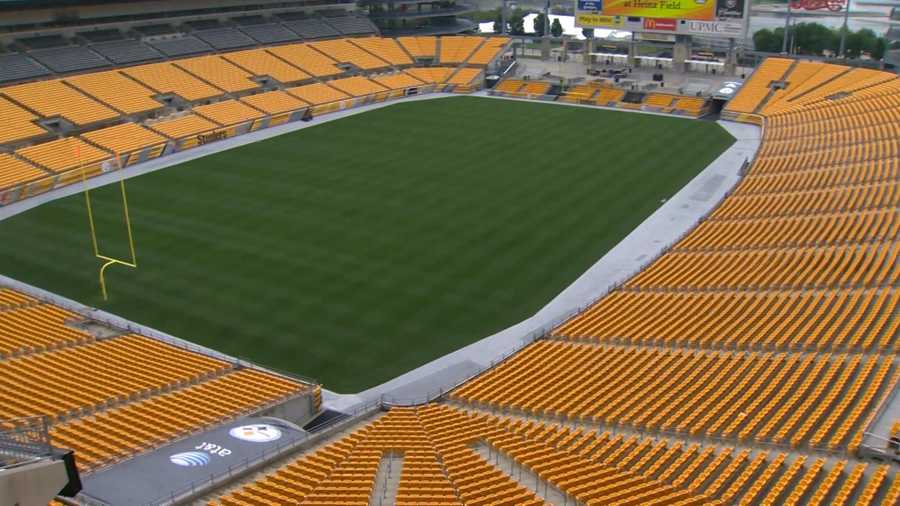 """From a new scoreboard to a """"BURGHER"""" on a stick and a Bud Light Deck, see the new items football fans can expect to find at Heinz Field this season."""