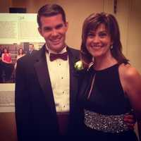 """WTAE's Michelle Wright and Matt Belanger were recognized as """"Pittsburgh's 50 Finest"""" at a Cystic Fibrosis Foundation gala at the Omni William Penn Hotel."""