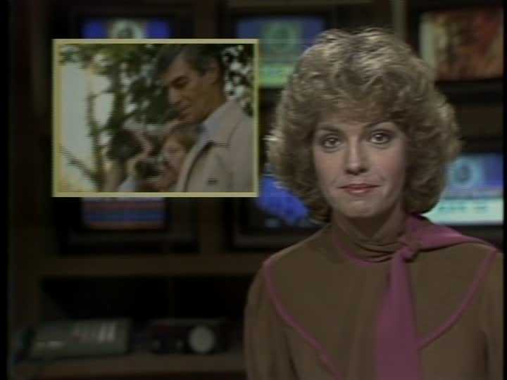 Sally Wiggin in 1983. She joined WTAE in 1980 and became co-anchor of the weekend news in January 1981.